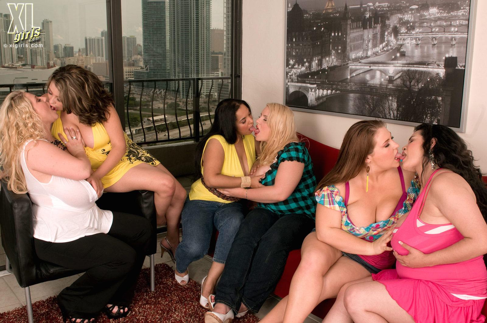 Consider, Bbw fat lesbian orgy